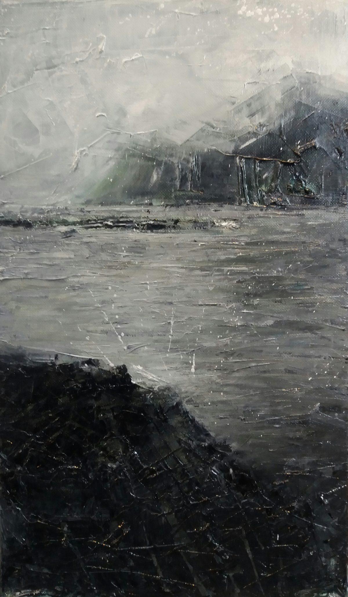 Carsaig. Oil on Canvas.