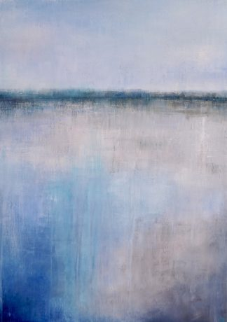 Contemporary landscape painting abstract landscape
