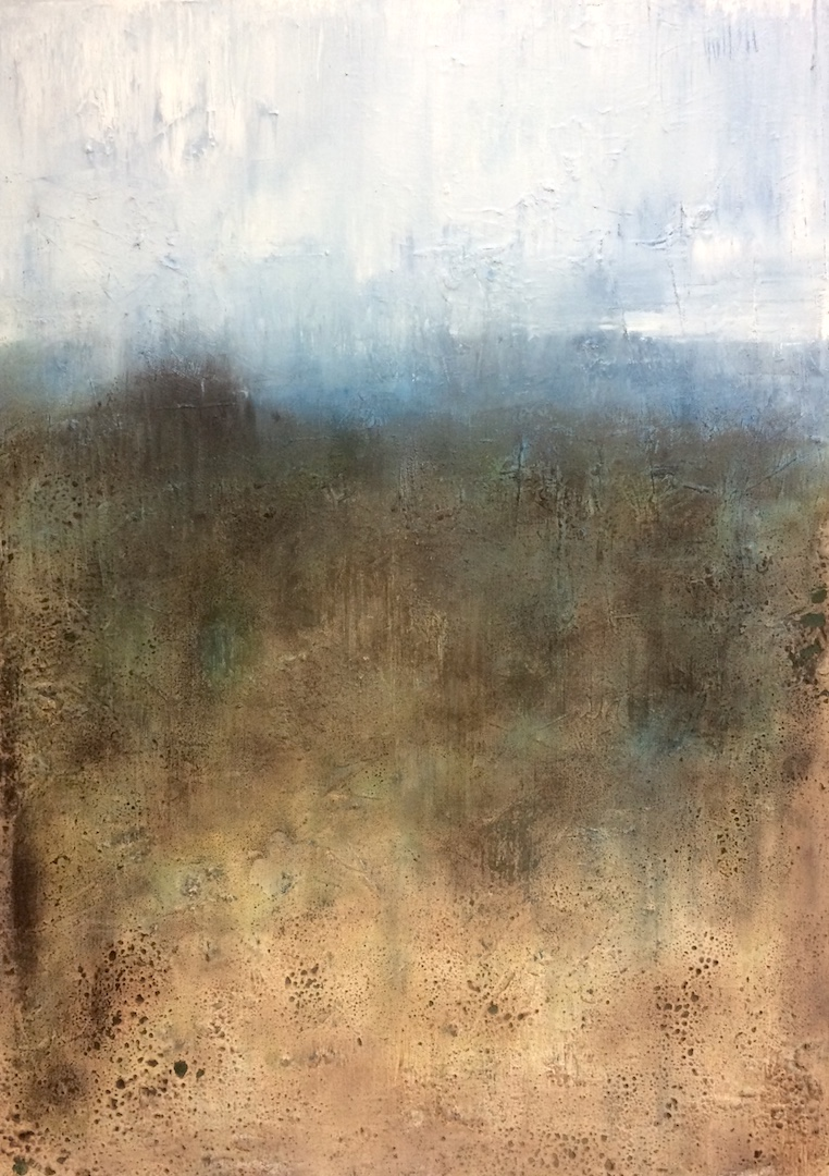 Oil on Linen. 50cm:70cm. 2018 Landscape painting Contemporary landscape painting